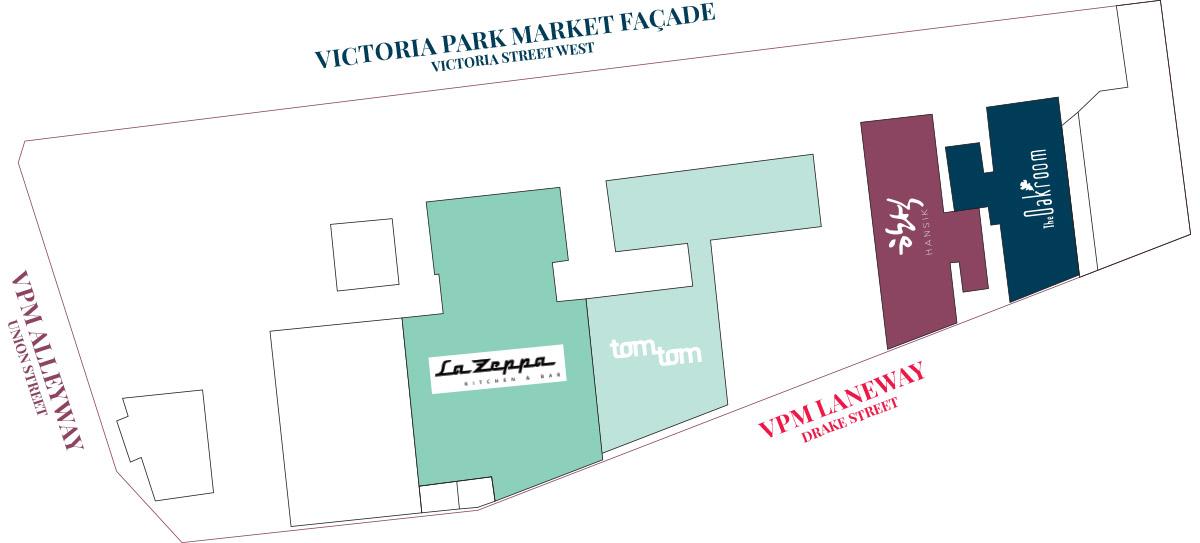 Level 3 Map of Victoria Park Market
