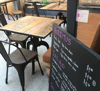 Standing room Espresso at Victoria Park Market